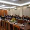 Đoàn Bộ trưởng Bộ Kinh tế Phần Lan đến thăm Công ty Nước sạch Hà Nội