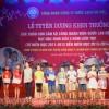 Lễ tuyên dương khen thưởng các cháu con CBCNVCLĐ đạt học sinh giỏi 3 năm liền