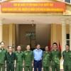 Ban chấp hành Công đoàn Công ty Nước sạch Hà Nội thăm các đồng chí Sĩ quan Quân nhân dự bị