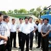 Chủ tịch UBND Thành Phố Hà Nội về thăm, kiểm tra Công ty nước sạch Hà Nội và chỉ đạo kế hoạch cấp nước hè năm 2015