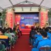 Công ty Nước sạch Hà Nội tham gia Lễ phát động hưởng ứng tuần lễ quốc gia về an toàn vệ sinh lao động, phòng chống cháy nổ lần thứ 18 năm 2016 và Tổng kết công tác bảo hộ lao động năm 2015 của Công đoàn ngành Xây dựng Hà Nội.