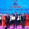"""Công ty Nước sạch Hà Nội được vinh danh """"Doanh nghiệp vì người lao động  năm 2017"""""""