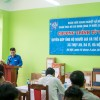 Đoàn Thanh niên Công ty NSHN đến thăm Trung tâm nuôi dưỡng người già và trẻ em tàn tật Thụy An, xã Thụy An, huyện Ba Vì, Hà Nội