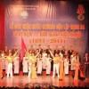 Hoạt động văn nghệ của Đoàn thanh niên Công ty chào mừng Lễ đón nhận Huân chương Độc lập hạng Ba và kỷ niệm 117 năm ngành nước Hà Nội