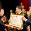 Lễ đón nhận Huân chương Độc lập hạng Ba và kỷ niệm 117 năm ngành nước Hà Nội