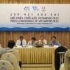 Họp báo giới thiệu triễn lãm Quốc tế về công nghệ ngành nước – VIETWATER 2012