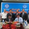 Lễ ký kết biên bản hợp tác giữa Công ty Nước sạch Hà Nội và Tổng Công ty cấp nước Sài Gòn